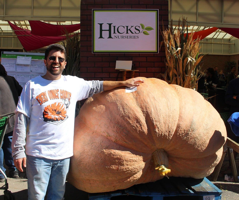 Giant Pumpkin Weigh-Off a HUGE Success