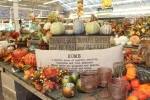Fall Decor at Hicks Nurseries