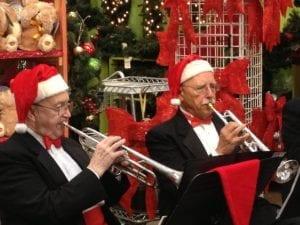 Live Brass Band @ Hicks Nurseries