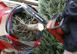 Christmas Tree Chainsaw