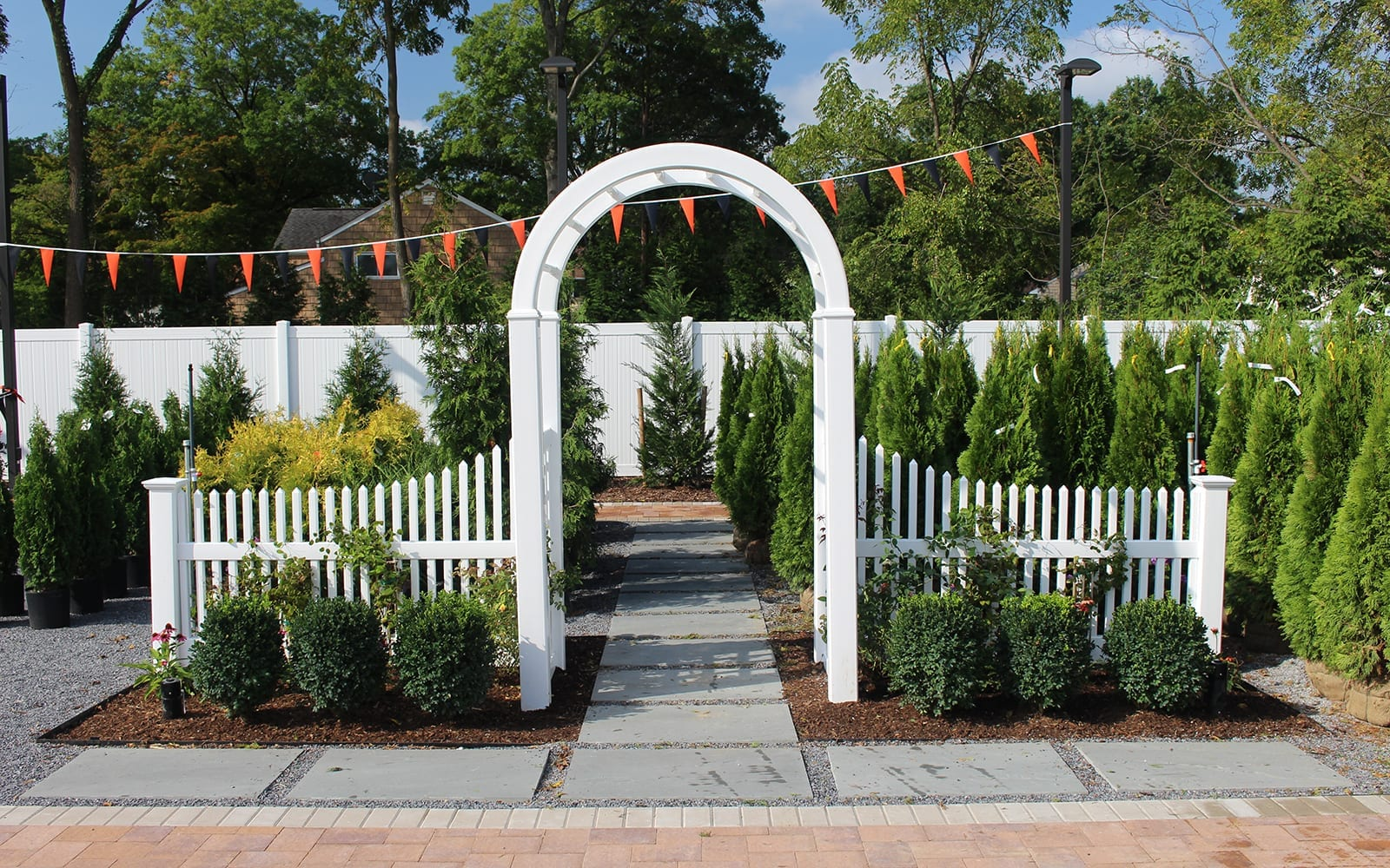 Arbor Garden Display