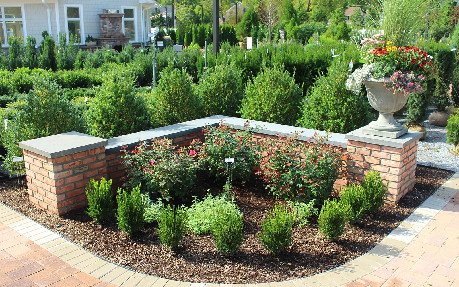 Formal Garden Display