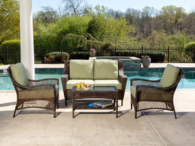 Deep Seating Set Poolside