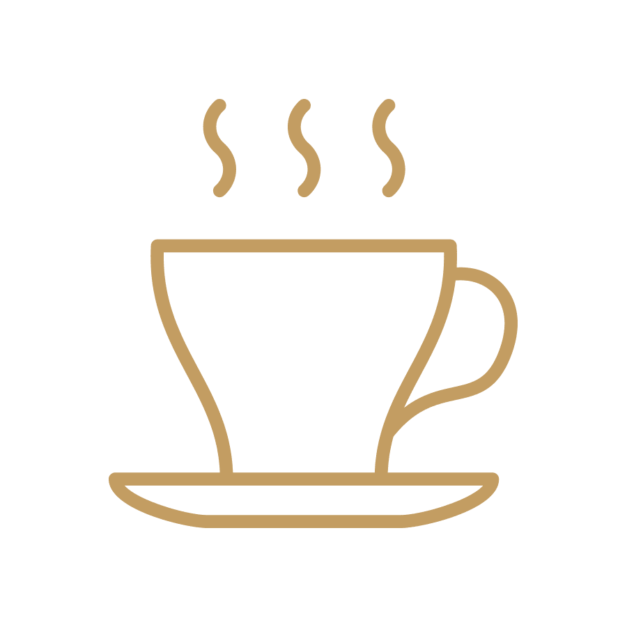Steaming Cup - Gold Icon