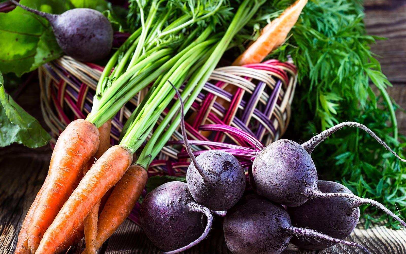 Assortment of Root Vegetables