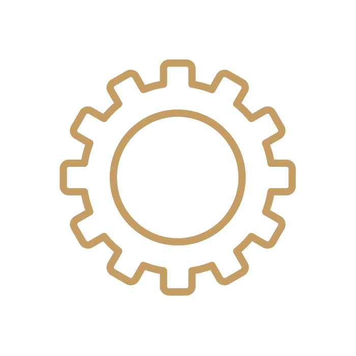 Wheel - Gold Icon
