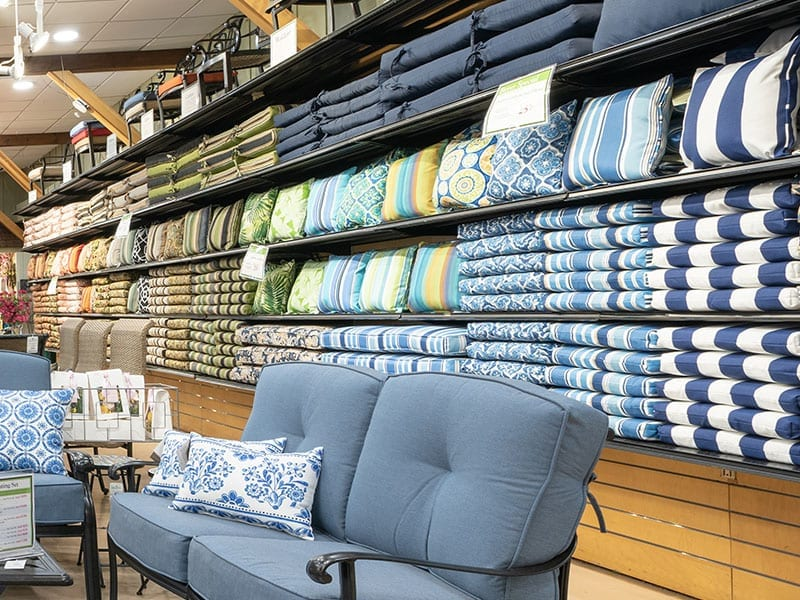 Cushion Selection at Hicks