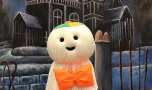 Pictures with Otto the Ghost! 10am-12pm and 1pm-4pm