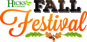 Hicks Nurseries Fall Festival Logo
