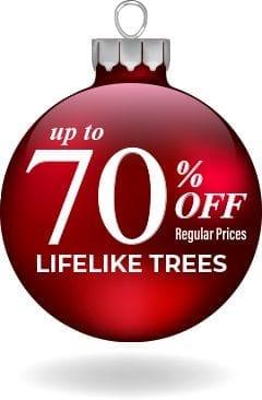 70 Percent Off Trees Sale Sign