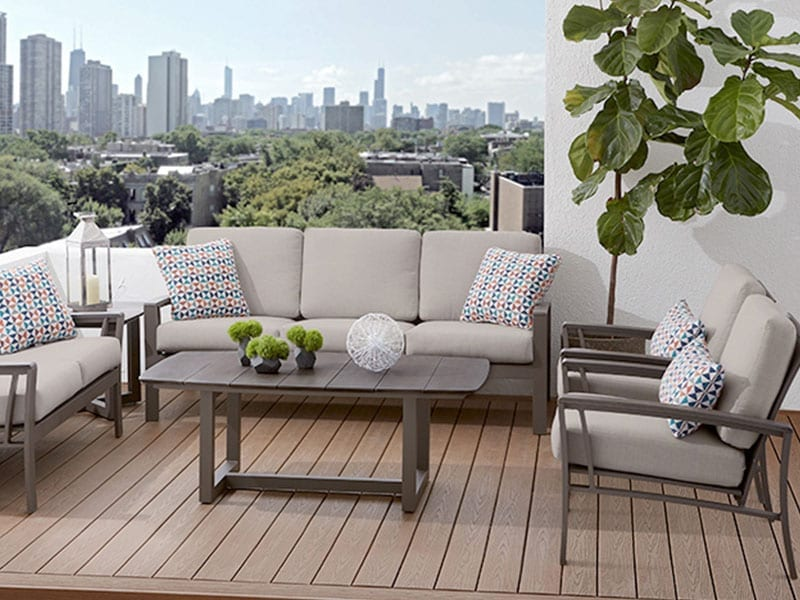 Deep Seating Set on a patio