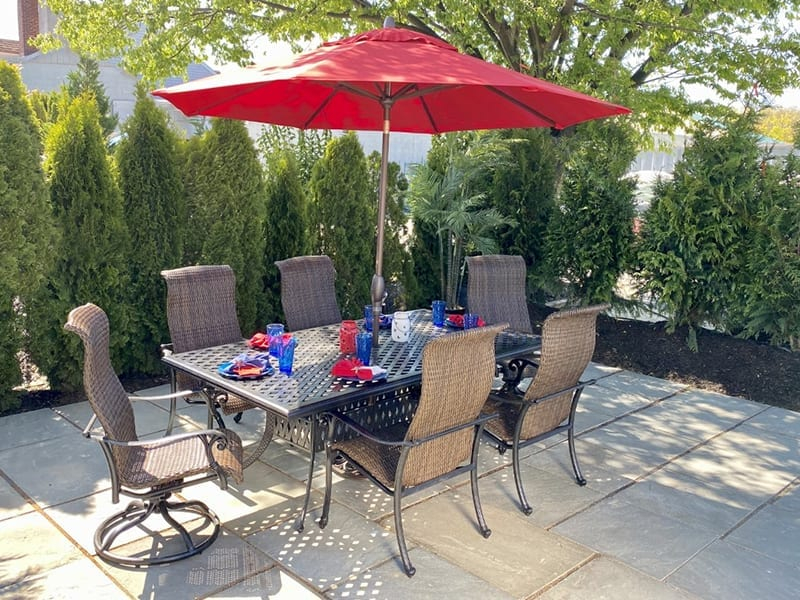 SORRENTO OUTDOOR DINING SET