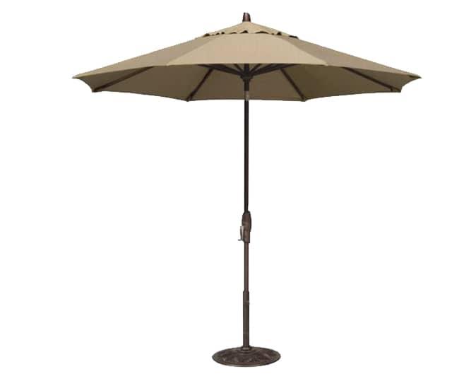 outdoor umbrella for dinning set